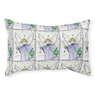 Mod Blue Angel Pet Bed