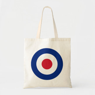 MOD Blue Red and White Square Tote Bag | MOD Gifts