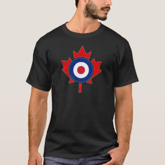Mod Canada Curling Hockey Target Roundel T-Shirt