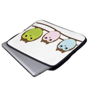 Mod Chic Classy Destiny Owl Laptop Computer Sleeve