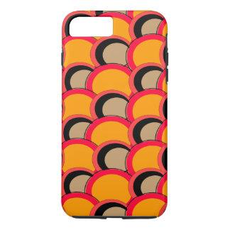 Mod Circles Orange iPhone 7 Plus Case