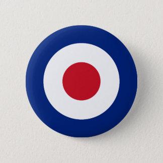 Mod - Classic Roundel - Bullseye Archery Target 6 Cm Round Badge
