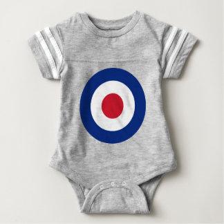 Mod - Classic Roundel - Bullseye Archery Target Baby Bodysuit