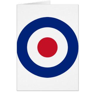 Mod - Classic Roundel - Bullseye Archery Target Card