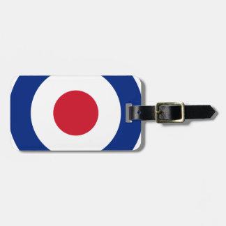 Mod - Classic Roundel - Bullseye Archery Target Luggage Tag