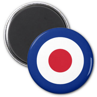 Mod - Classic Roundel - Bullseye Archery Target Magnet