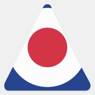Mod - Classic Roundel - Bullseye Archery Target Triangle Sticker