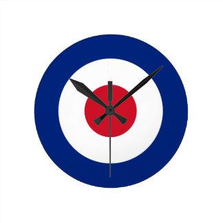 Mod - Classic Roundel - Bullseye Archery Target Wall Clocks