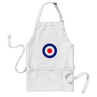 MOD Classic Roundel Target Graphic Standard Apron