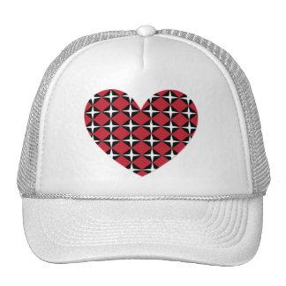 Mod Diamond Heart Trucker Hat