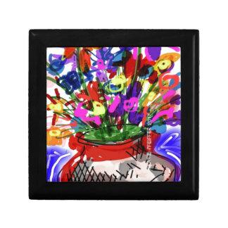 Mod Digital Flower Bouquet 2017 Gift Box
