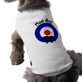 Mod Dog Bullseye Dog Shirt