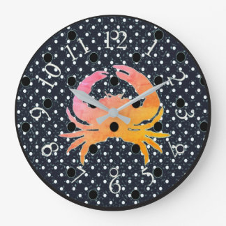 Mod-Dots-Crab_ Wallclocks