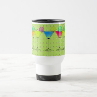 Mod-Elegant-Martini-Lime_Crocus-Garden-Floral Travel Mug