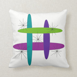 Mod Elliptical Throw Pillow