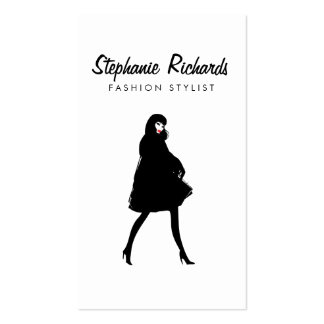 Mod Fashion Girl III Stylist, Boutique Pack Of Standard Business Cards
