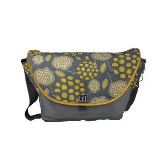 Mod Floral Messenger Bag