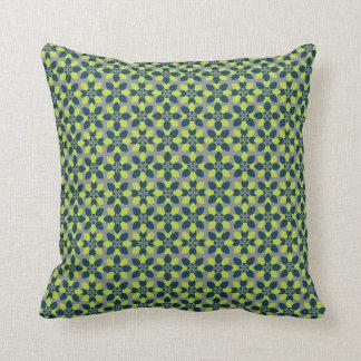 Mod Flower Lime Cushion