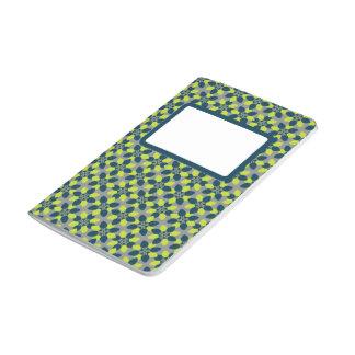 Mod Flower Lime Journal