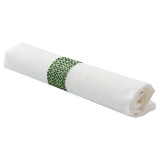 Mod Flower Lime Napkin Band