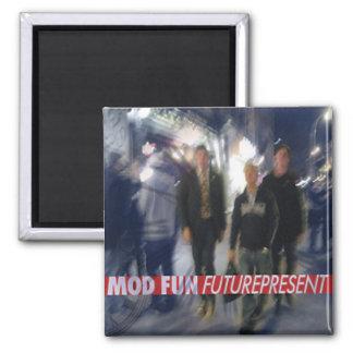 MOD FUN Futurepresent CD cover Magnet