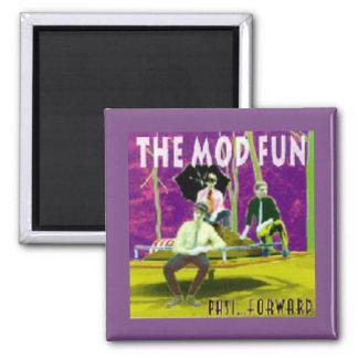 MOD FUN Past Forward Best Of CD art Magnet
