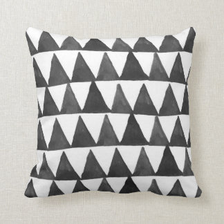 Mod Geometric Triangles Cushion