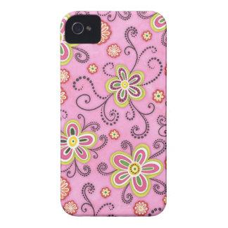 Mod-Girl Scribbleflowers Blackberry Case