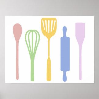 Mod Kitchen - poster