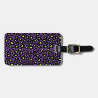 Mod Leopard Print Luggage Tag