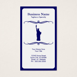 mod liberty business card