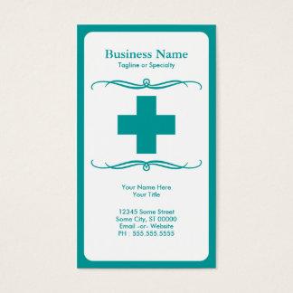 mod medical cross business card