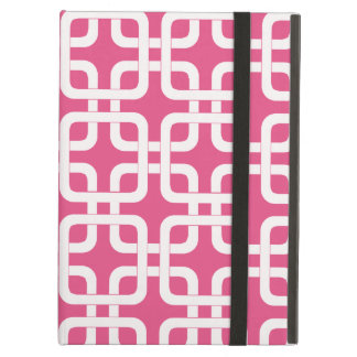 Mod Mid-Century Modern Rounded Corner Square Retro iPad Air Covers