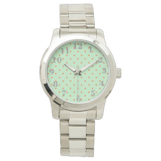 Mod_Mint-Dots-Silver-Numbers Watch