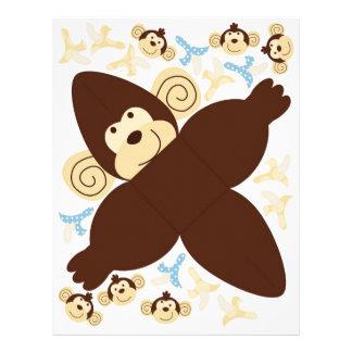 Mod Monkey Favor Box B 21.5 Cm X 28 Cm Flyer