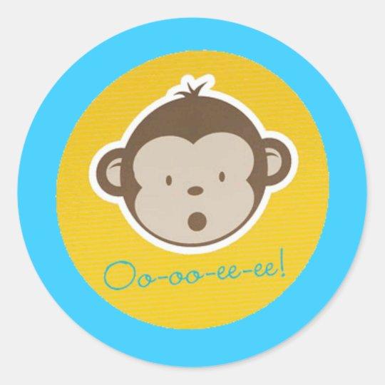 Mod Monkey Sticker