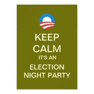 Mod Obama Election Night Party Invitations