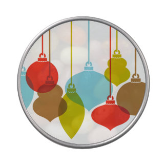 Mod Ornaments Retro Christmas Candy Tin