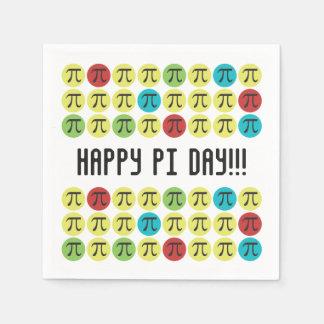 Mod Pi - Happy Pi Day Party Disposable Serviettes