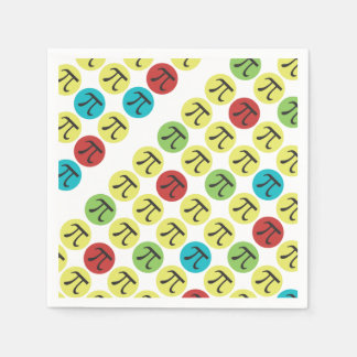 Mod Pi - Happy Pi Day Party Supplies Paper Napkin