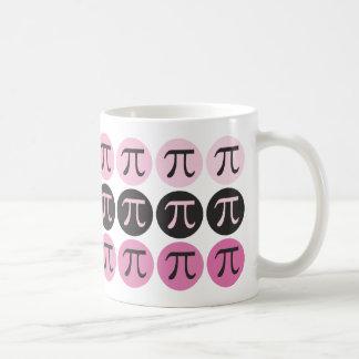 Mod Pi  - Pink Pi Gift Coffee Mug