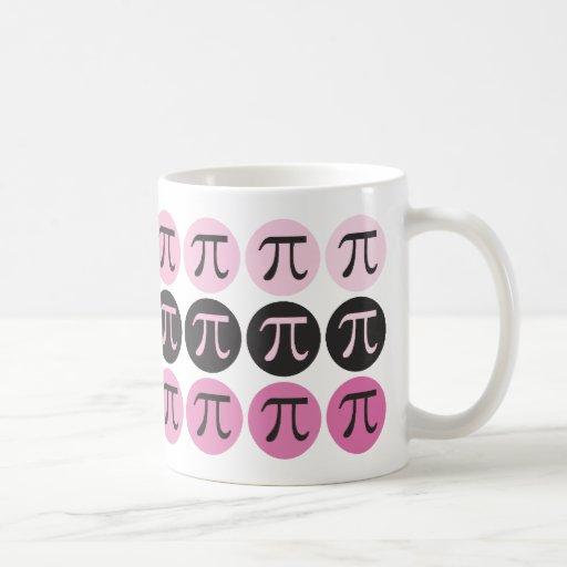 Mod Pi  - Pink Pi Gift Mugs
