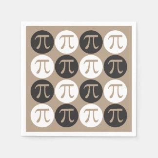 Mod Pi Symbols Paper Napkins Party Supplies