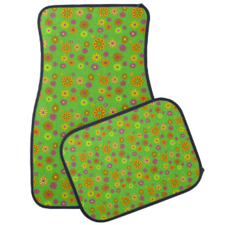 Mod Pop Flower Power car mats Car Mat