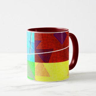 Mod Puzzle Mosaic 11oz. Mug