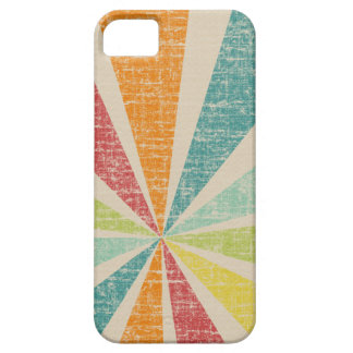 Mod Rainbow Sun Burst Grunge Rustic Colorful iPhone 5 Covers