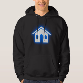 mod real estate hooded pullover