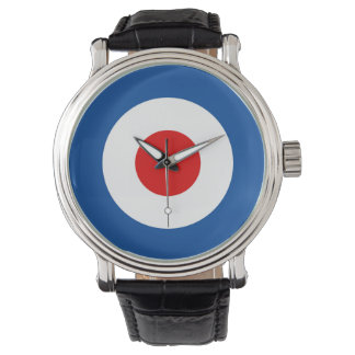 Mod Roundel Leather Band Watch