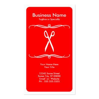 mod scissors business card templates