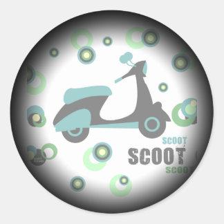 Mod Scoot Fade Sticker